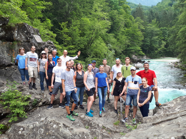 Group photo Triglav 2018